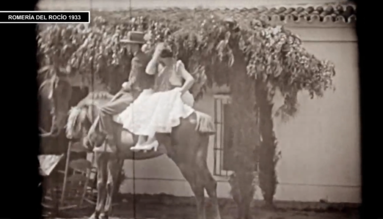 Película de la Romería del Rocío de 1933 por Javier Coronel