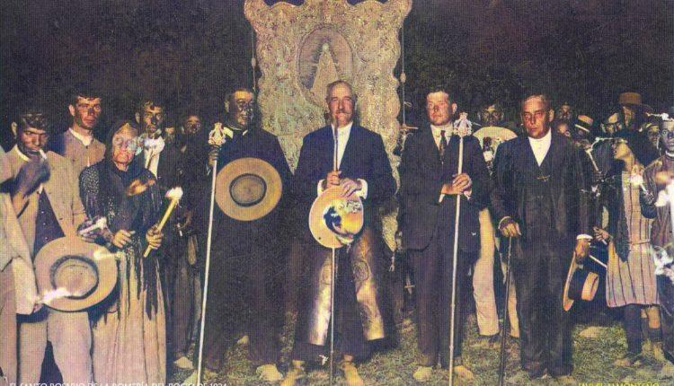 El Santo Rosario del Rocío de 1924 y los orígenes de este rezo, por Javier Coronel