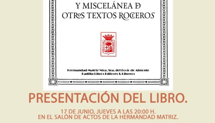 Presentación de «La Romería del Rocío» (1918) de Manuel Siurot