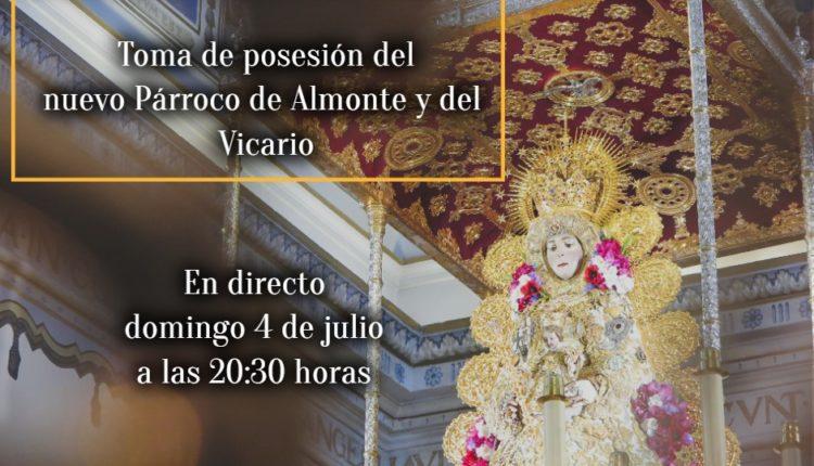 Toma de posesión del nuevo Párroco de Almonte