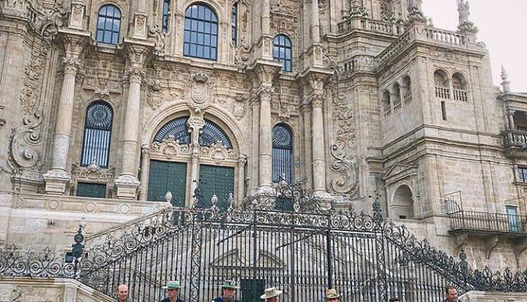 Rocieros Caballistas en Santiago de Compostela