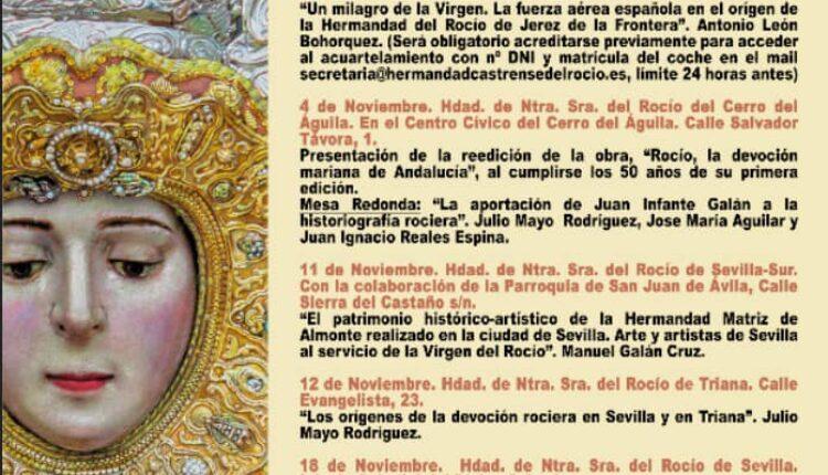 Los Jueves de Jubilar Rocío – Jubilar Rocío hará un recorrido por las hermandades del Rocío de Sevilla