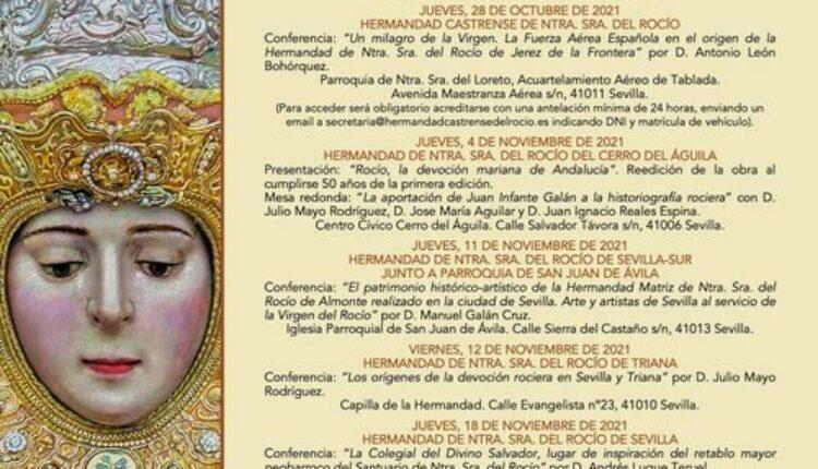 Jubilar Rocío – Sesiones de formación en las sedes de las Hermandades del Rocío de Sevilla.